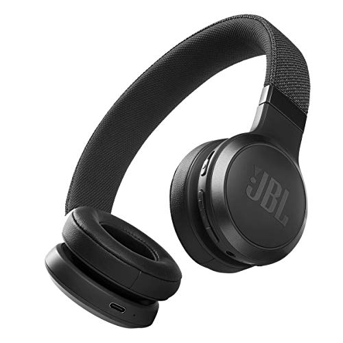 JBL Live 460NC - Wireless On-Ear Noise Cancelling Headphones with Long Battery Life and Voice Assistant Control - Black
