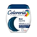 Coloreria Italiana Grey Colorante Tessuti e Vestiti in Lavatrice, Blu Notte, 1 Confezione