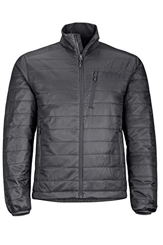 Marmot Men's Calen Insulated Puffer Jacket, Jet Black, Large