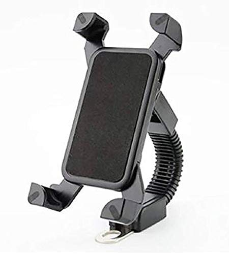 Ionix Bike Mobile Holder for Activa / Bike , Universal Long Neck Bike Mobile Holder