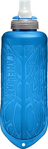 CamelBak Quick Stow Flask Botella de Agua, Unisex adulto, Azul, 500 ml