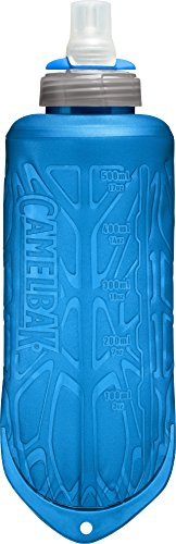 CamelBak Quick Stow Flask Botella de Agua, Unisex adulto, Azul, 500 ml