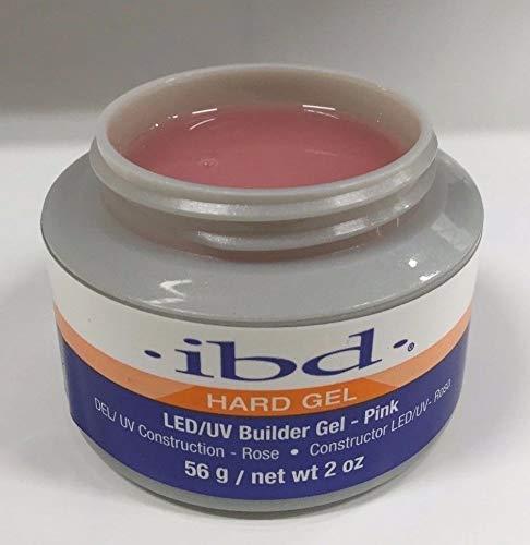 IBD Hard Gel LED/UV Builder Gel, Pink, 1er pack (1 x 56 g)