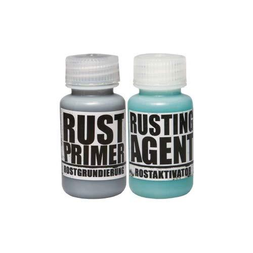 Starterset Rost   Rost-Effekt-Farbe   Rostoptik-Set - HanseColor HC331