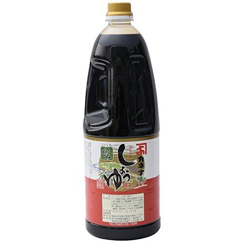 長友味噌醤油醸造元 カネナしょうゆ カネナこいくちしょうゆ「さしみ」(甘口) 1800ml