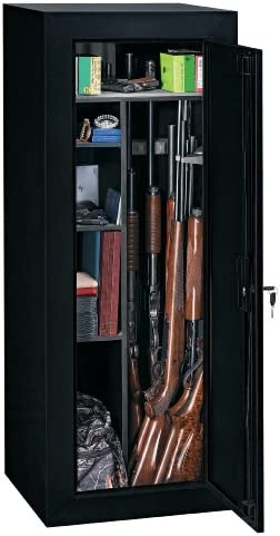 Amazon Com Stack On Gcb 18c Steel 18 Gun Convertible Steel Security Cabinet Black Home Improvement