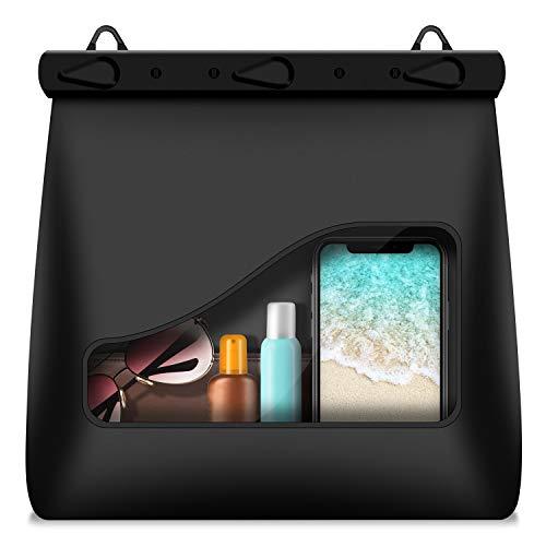 AFAROFF wasserdichte Tasche, transparente Tasche,Schultertaschen, Verstellbarer Schultergurt, kann zum Schwimmen, Bootfahren, Angeln, Kajakfahren im Freien verwendet Werden