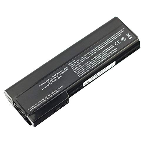 Exxact Parts Solutions Replacement Laptop Battery for HP EliteBook 8460P 8470P 8560P 8570P ProBook 6360B 6460B 6465B 6470B 6560B 6565B 6570B 628670-001 [Li-ion 10.8V 7800mah 9 Cell]