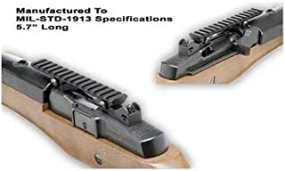 GG&G Made in USA Tactical Picatinny Mil-Std 1913 Scope Rail Mount Fits Ruger Mini-14 Mini14 Ranch Rifle