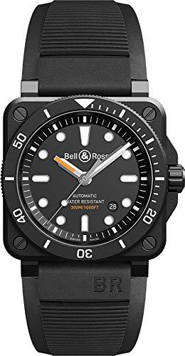 Bell & Ross Matt Black Ceramic Diver BR0392-D-BL-CE/SRB