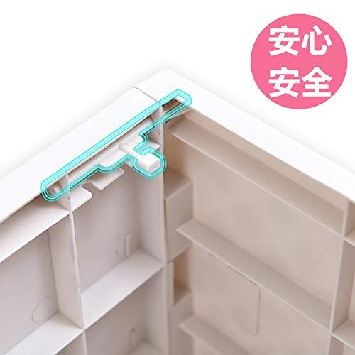 収納ボックス折りたたみ収納ケース折りたたみ収納ボックス一つ収納ボックスフタ付きプラスチック積み重ね収納ケース衣類書類整理ボックス白おしゃれ丈夫組み立てが簡単で堅固である耐久性があり【超大容量55L-1Pack】