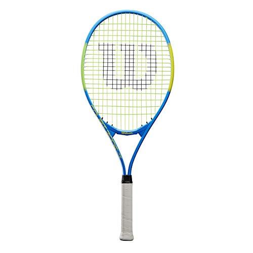 Wilson Raqueta de tenis, Court Zone Lite, Principiantes y jugadores intermedios, Negro/Amarillo, Tamaño de empuñadura L3