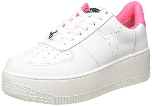 Windsor Smith POP Rich, Zapatillas de Gimnasio Mujer, White Neon...
