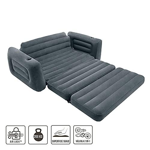 Intex 66552 Sofá cama 203 x 224 x 66 cm
