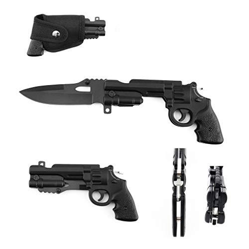 General Edge Trigger 44 Mag Pistol Knife Black Assisted-Open