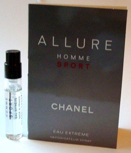 Chanel Allure Homme Sport Eau Extreme Eau de Toilette Spray, 0.06 Fluid Ounce