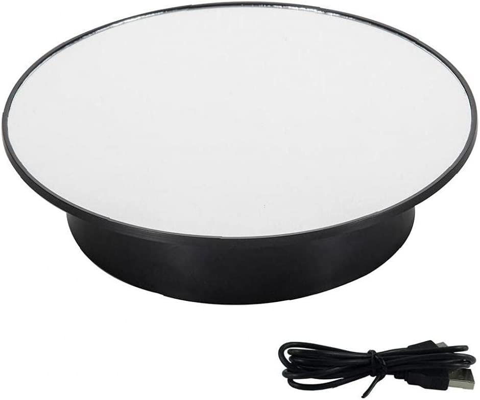 Motorized Rotating Display Stand Degree 7.87inch 360 Houston Challenge the lowest price of Japan ☆ Mall Turntable