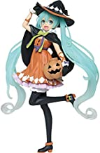 EXTOY Zo Taito Vocaloid 2Nd Season Autumn Ver Pumpkin Miku PVC Action Figure Model Doll Toys for Halloween Must Haves for Kids Friendship Gifts Toddler Favourite Superhero Party Decorations