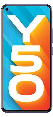 Vivo Y50 (Iris Blue, 8GB RAM, 128GB Storage) Without Offer