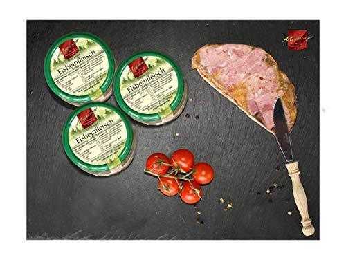 Eisbeinfleisch aus Thüringen I Wurst in Glaskonserven I Spezialitäten aus Meiningen