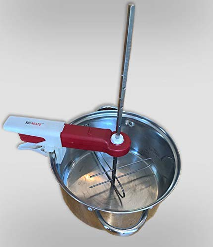 StirMATE OMNI-XL Stainless Steel Stirrer attachment for up to 5-Gallon pots.