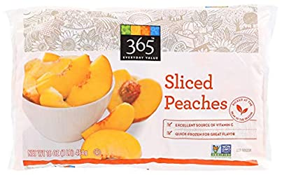 365 Everyday Value, Sliced Peaches, 16 oz, (Frozen)