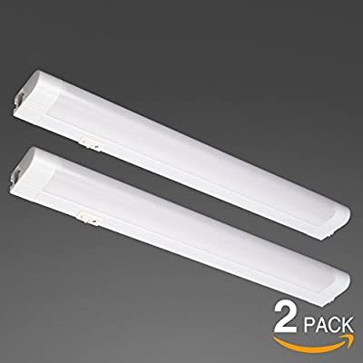 2 PACK 5W/8W/15W Extendable Under Cabinet Integrated T5 Tube Light, 19-inch/28-inch/22.3-inch, 4200K/4200K/5000K LED Workbench Light
