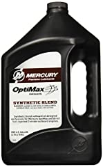 Mercury Optimax/DFI oil is recommended for use in Mercury and Mariner Optimax and direct fuel injected DFI 2-cycle outboards Maximizes the performance of Mercury and Mariner Optimax and DFI engines where reduced oiling rates and higher operating temp...
