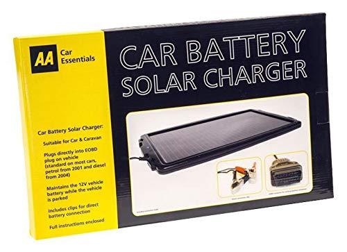 Aa (Automobile Association) - Cargador solar de la batería del coche