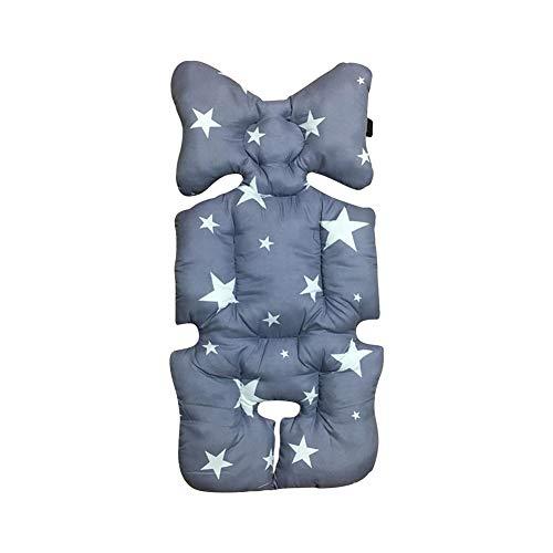 Qiao Nai Cojín Reductor Universal de Algodón Colchoneta para Silla de Paseo de Bebe, Silla de Coche, Capazo Protector de Cuerpo para Coche (3C)