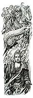 (ファンタジー) THE FANTASY タトゥーシール 仏さま 菩薩 如来 Buddha-1【特長・肩から手首】 (tqb029)