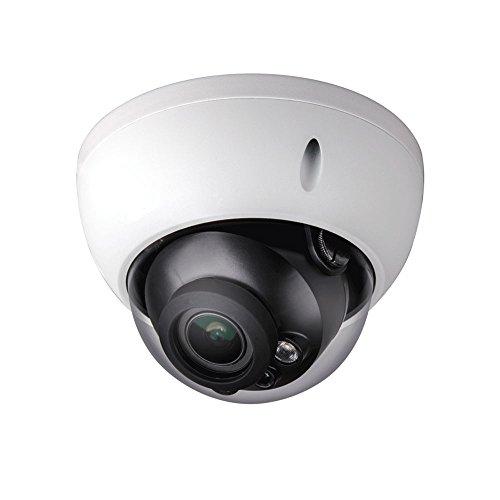 Dahua HAC-HDBW2221R-Z Telecamera Eyeball Dome Fisso HD-CVI Serie Pro con Illuminazione IR Antivandalo per Esterno, Bianco
