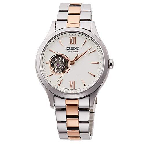Orient Klassiche Edelstahl Damen Armbanduhr Silber mit Uhrenbox