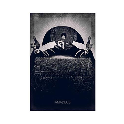 Poster HD vintage classique Amadeus sur toile pour chambre à coucher, sport, paysage, bureau, décoration sans cadre, 30 × 45 cm