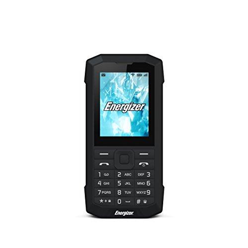 "HARDCASE ENERGY 100 - Cellulare sbloccato 2G - Tastiera Araba - Spine EU UK (Display : 2, 40""- 32 Mo - Doppia SIM) Nero"