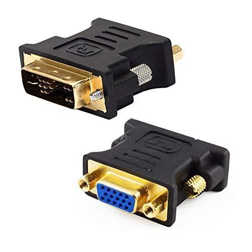 N.C. Adaptador DVI-A Macho a VGA Hembra DB-15