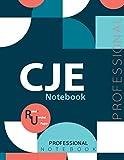 "CJE Notebook, Examination Preparation Notebook, Study writing notebook, Office writing notebook, 140 pages, 8.5"" x 11"", Glossy cover"