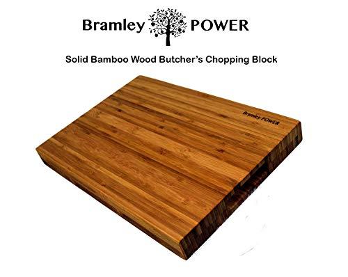 Bramley Power Schneidebrett mit Griffen aus Bambus
