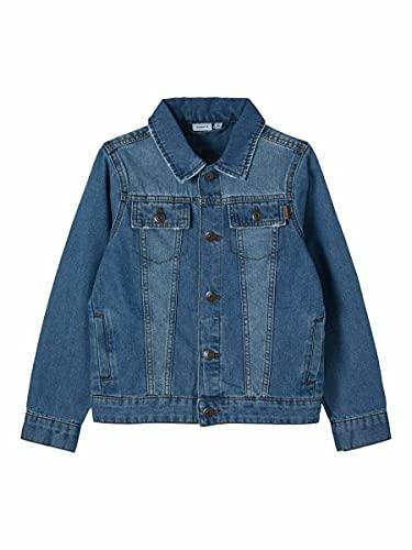 NAME IT Nkmtpims Dnm 2466 Jacket Noos Chaqueta, Medio De Mezclilla Azul, Tamaño de la Cintura:90 cm para Niños