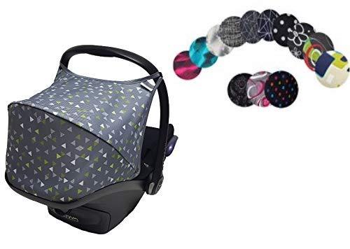 Sweet Baby ** HOODY Multi ** Capote/Protège SOLEIL/PLUIE/VENT pour siège auto Maxi-Cosi CabrioFix et autre (Design 15)