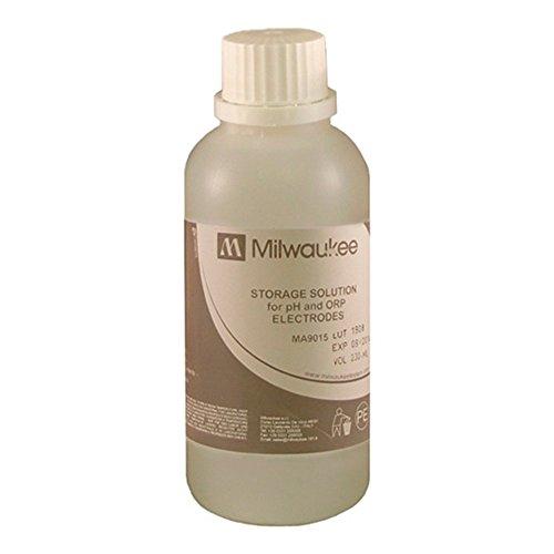 Aufbewahrungslösung für pH / ORP Elektroden Milwaukee 230ml (MA9015)