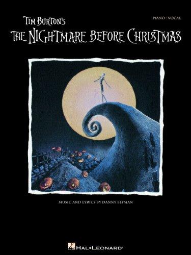 Tim Burton's The Nightmare Before Christmas Songbook: P/V/G (Piano Vocal Series) (English...