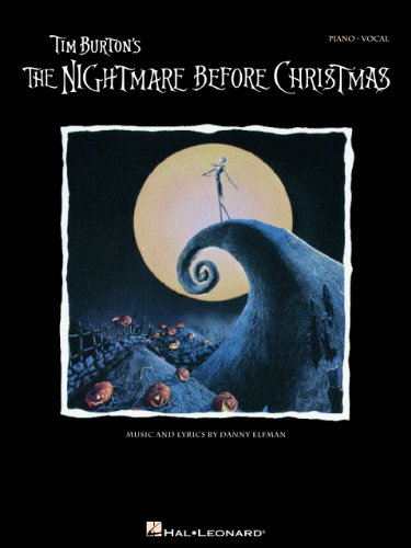 Tim Burton's The Nightmare Before Christmas Songbook: P/V/G (Piano Vocal Series) (English Edition)