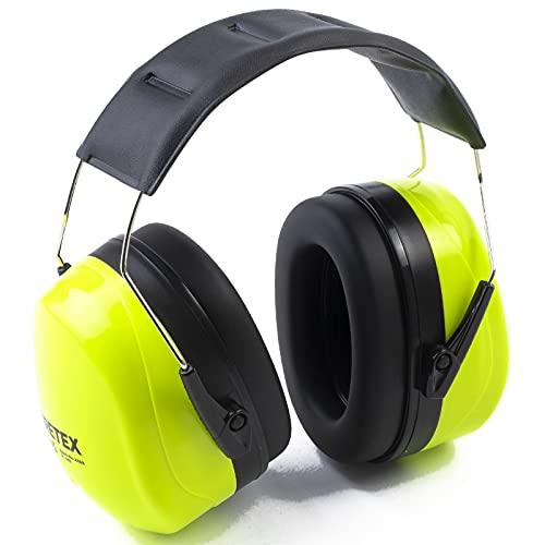 PRETEX Protección auditiva profesional con SNR 31 dB, peso ligero, diadema ajustable sin niveles,...