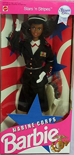 Mattel Barbie Marine Corps Doll African-American