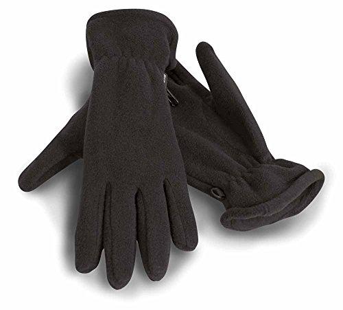 Result - gants polaires ACTIVE FLEECE GLOVES R144 - mixte homme/femme - coloris NOIR - taille L