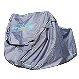 Copribicicletta esterno impermeabile FUCNEN grande copertura per bici per uso esterno universale 420D resistente tessuto anti-polvere, pioggia, protezione dai raggi UV per mountain bike da strada 29er