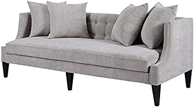 Amazon.com: Edloe Finch Modern Sectional Sofa Left Facing ...