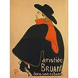 Toulouse Lautrec Aristide Bruant In His Cabaret Art Print