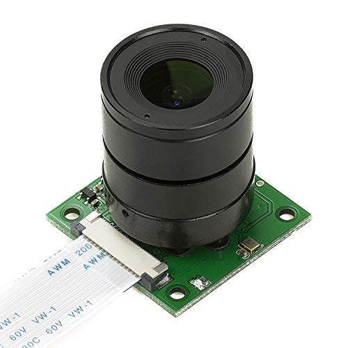 Arducam for Raspberry Pi Camera, Interchangeable CS Mount Lens for Pi 4, 3, 3B+, 5MP OV5647 1080P